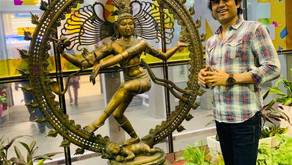 Megastar Aazaad reached Chennai from London to create history with his Tamil mega-movie Mahanayakan