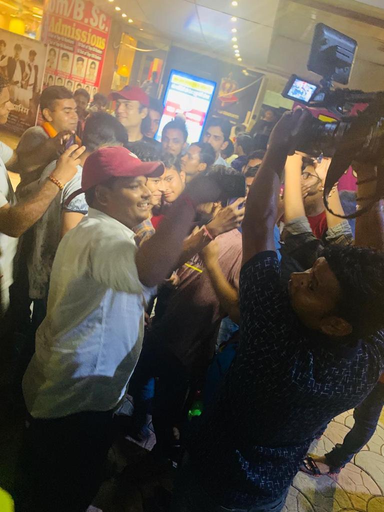 Megastar Aazaad at Banaras