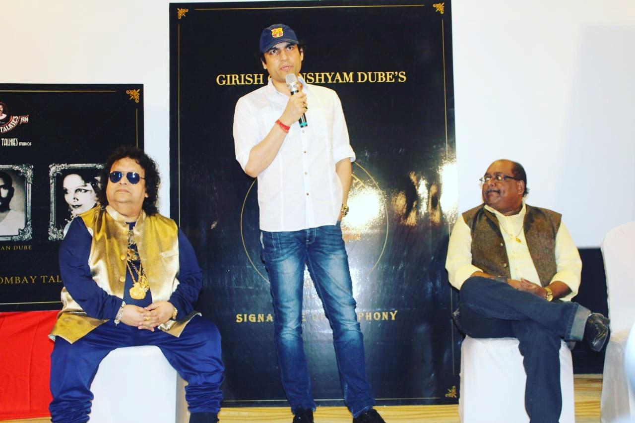 Megastar Aazaad at Music Launch