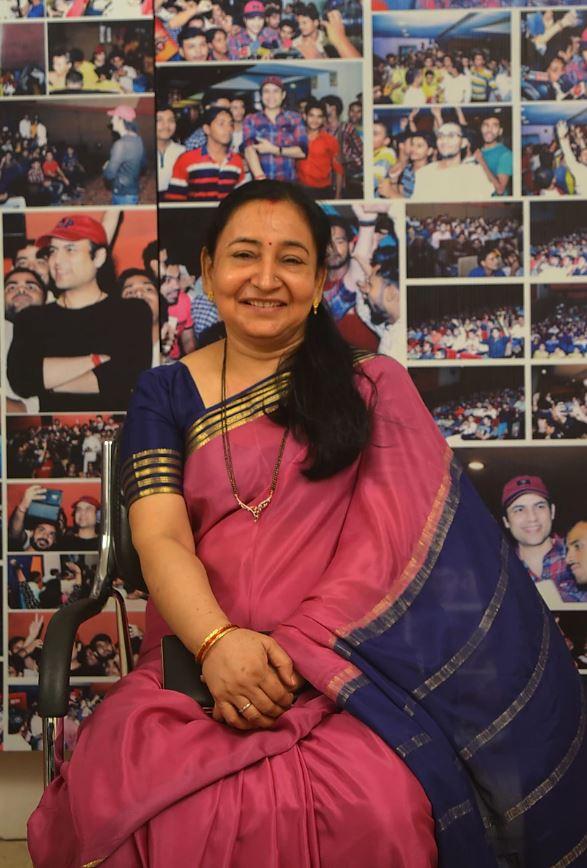 Kamini Dube at The Bombay Talkies Studios