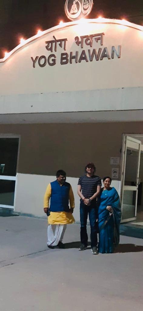 Megastar Aazaad at Haridwar