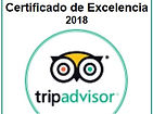 certificado de excelencia TRIP ADVISOR 2