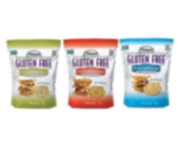 Olive Oil & Sea Salt Baked Crackers