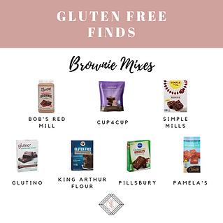 Gluten Free Brownie Mixes
