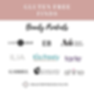 Gluten Free Make Up Brands