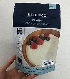 Plain Keto Hot Breakfast