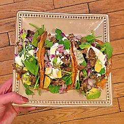 Cheese Taco Shell Turkey Tacos