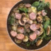 Spinach & Pesto Cauliflower Gnocchi