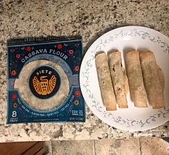 Cassava Flour Tortilla