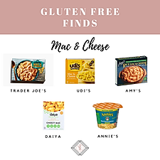 Gluten Free Mac & Cheese Finds