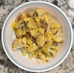 Cauliflower Mac and Cheese with Pancetta