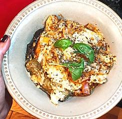 Basil Eggplant Lasagna
