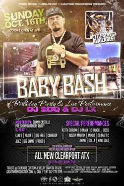 BABY BASH LIVE AUSTIN