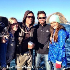 White Orchid Day 4 with some of the crew