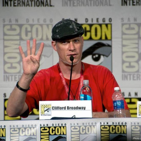 Cliff our Tolkien expert on The Hobbit panal at Comic-Con 2014