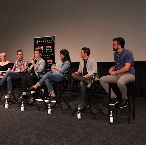 Josh & Jeff on Without panel with It Gets Better at Arclight Hollywood 2017