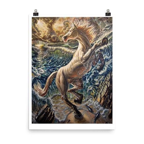 """Revelation"" oil on canvas, 36""x30"""