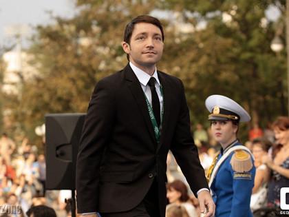 Josh Mandel attends the Pacific Meridian Film Festival 2012 in Vladivostok Russia