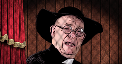 The Confession Booth - Irish Priest