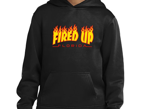 Fired Up Logo Hoodie (Unisex)