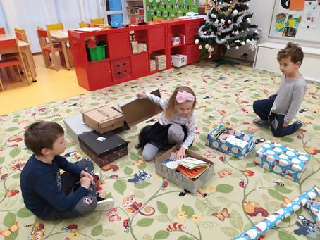 Vianočné krabice pre seniorov
