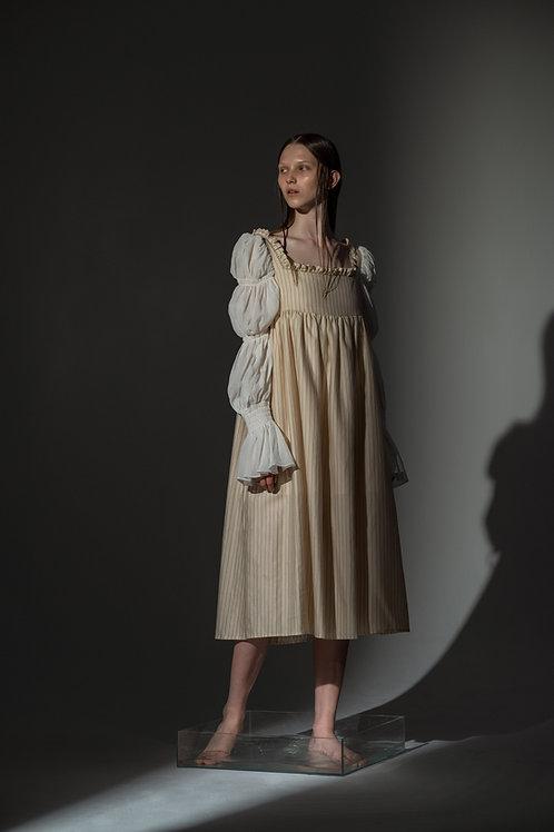 PSEUDO/POEMS TIFI Striped Halter Dress