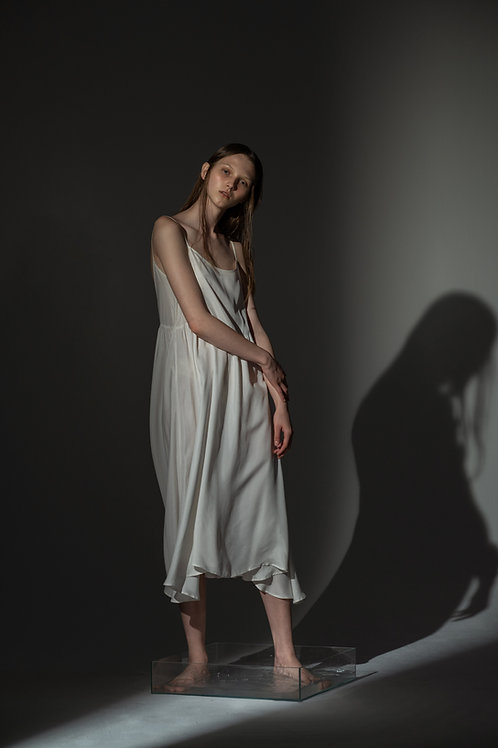 PSEUDO/POEMS PHOEBE Bottoming Dress