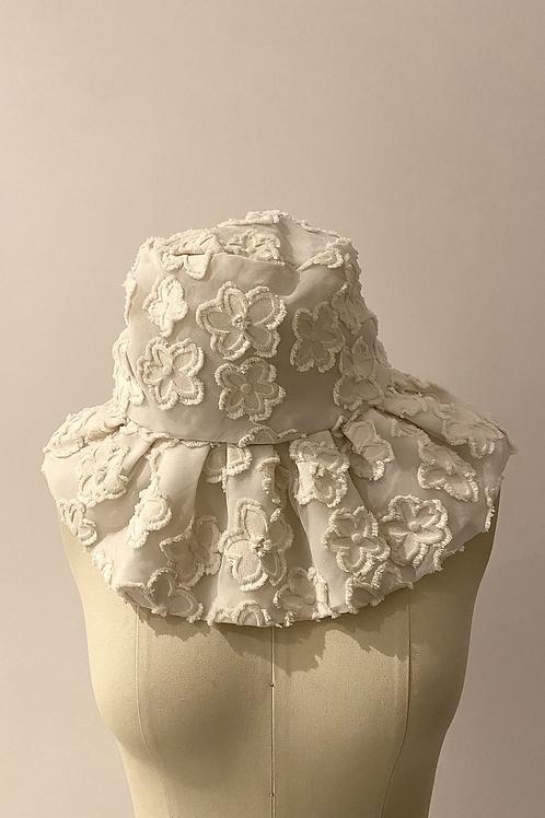 PSEUDO/POEMS EUDORA Flower Jacquard Hat