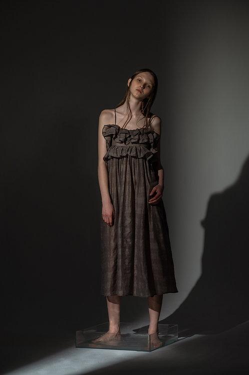 PSEUDO/POEMS SIROLA Petal Inspired Camisole Dress