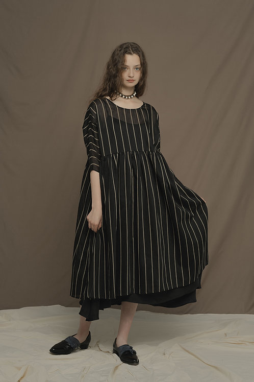 PSEUDO/POEMS PHILOMENA Double Layer Handkerchief Dress