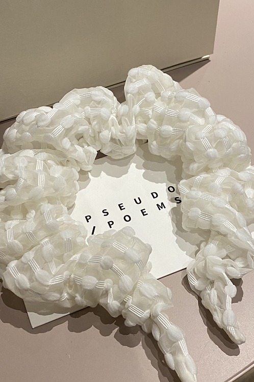PSEUDO/POEMS GILL Textured Stripe Hair Clasp