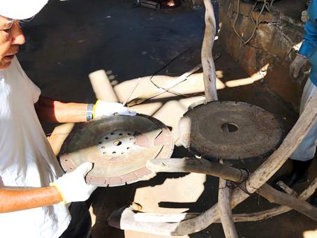 かがり火の台