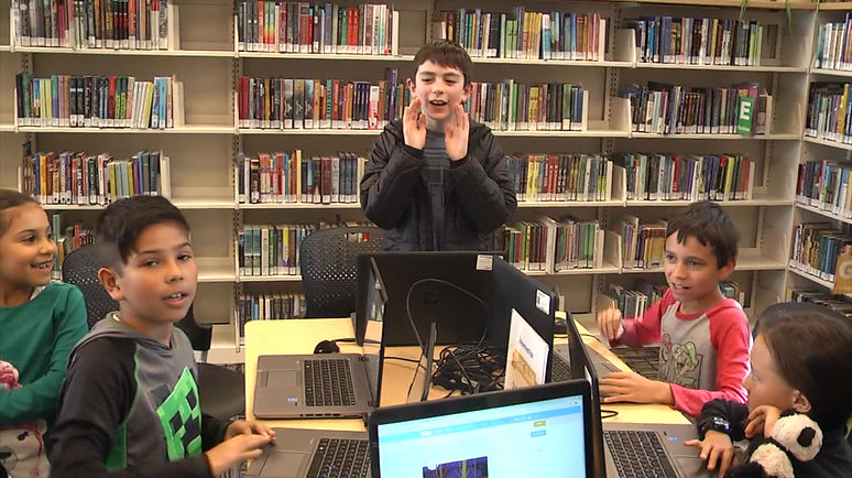 Code Club at the Pima County Public Library