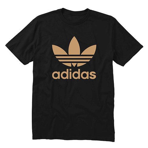 Gold Adidas Logo