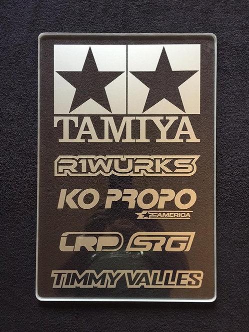 """Timmy Acrylic Pitboard 12"""" x 18"""" x .5"""""""