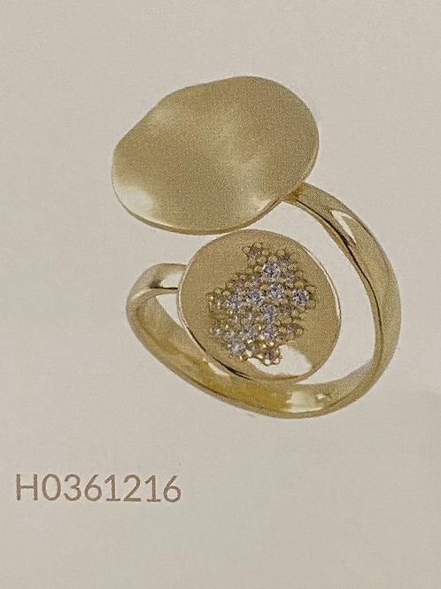 "Aquaforte Ring ""Linea Onde"""