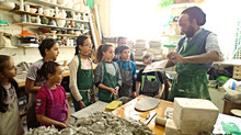 Half Term Children's Pottery