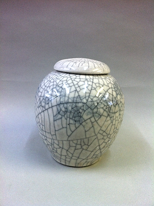 Large Crackle Jar