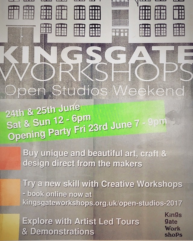 OPEN STUDIOS FREE ADMISSION-OR £10 FOR CLASSES/DEMONSTRATION/TOURS- BOOK NOW-FRI 23RD 7-9PM/ SAT 24TH 12-6PM /SUN 25TH 12-6PM