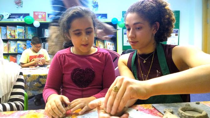 Brent Library Children's Pottery