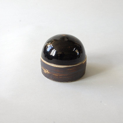 Black Dome Jar