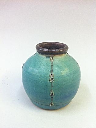 Small Beaded Jar