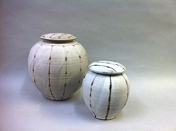 Beaded Jars