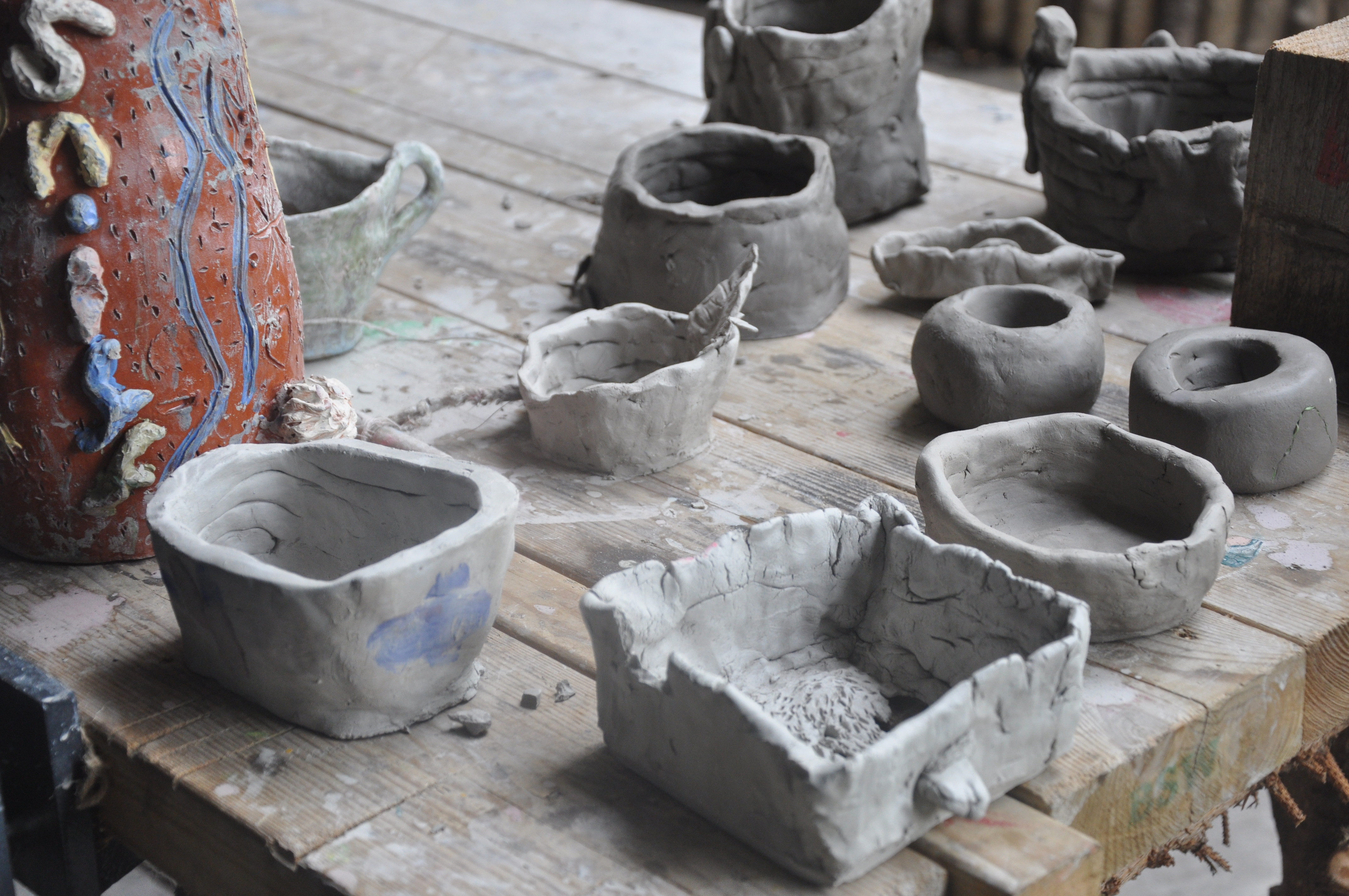 Children's Coil Pots