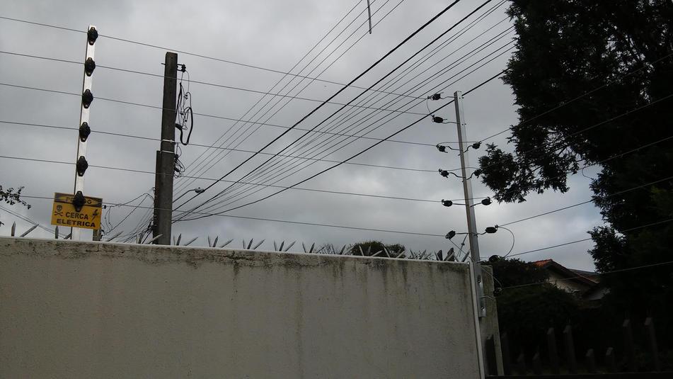 cabo de aço da cerca