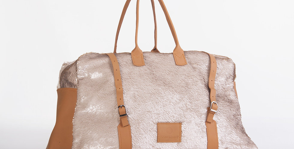 Stonecamp Sleepover Bag - Rosgold Bling