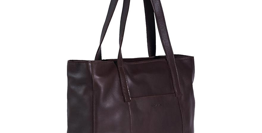 Antelo Juliette Leather Tote - Brown