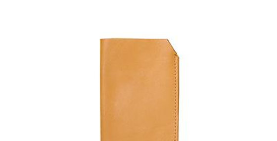 Antelo Leather Lucas Sunglasses Pouch - Mustard