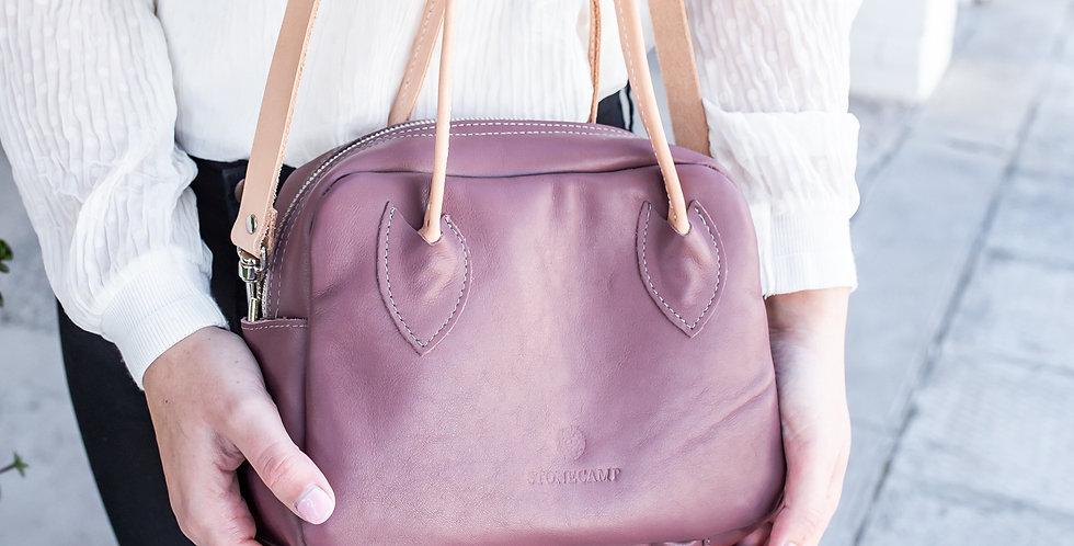 Stonecamp Post Call Leather Handbag - Burgundy