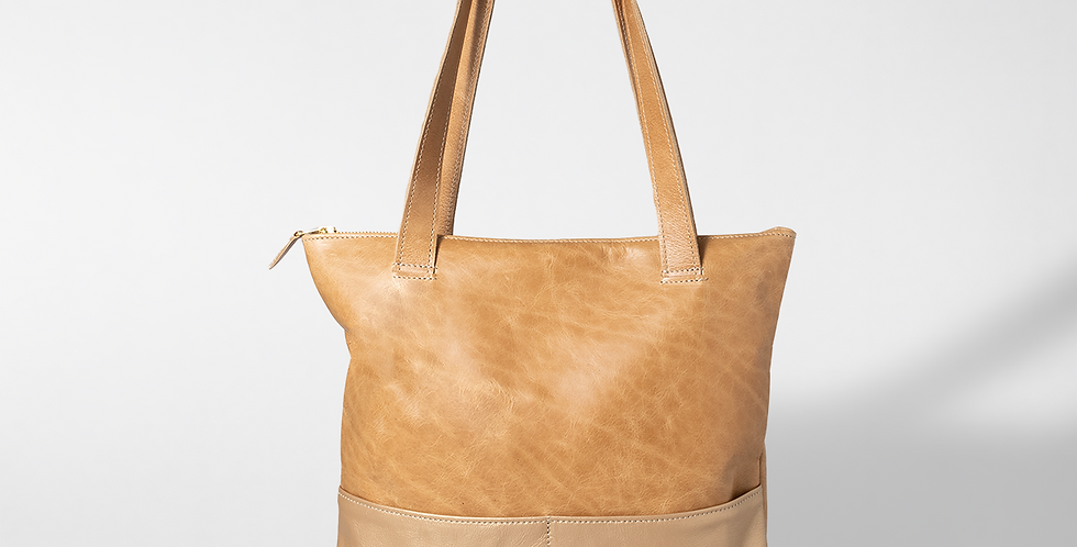 Thandana Leather Book Bag